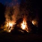 Feuer ohne Teufel.