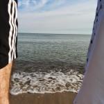 Frühschwimmen bei Kaliningrad.